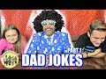 DAD JOKES | YOU LAUGH, YOU LOSE | TRY NOT TO LAUGH CHALLENGE | PHILLIPS FamBam CHALLENGES
