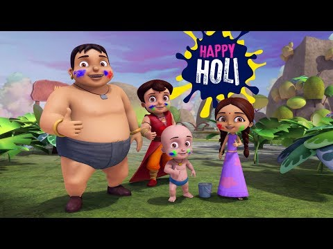 Super Bheem - Holi Special Song | Boom Boom Boom watch the colours Bloom