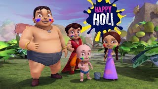 Download Video Super Bheem - Holi Special Song | Boom Boom Boom watch the colours Bloom MP3 3GP MP4