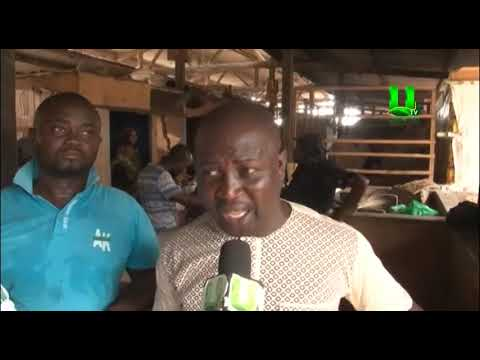 Accra Metropolitan Assembly (AMA) demolishes unauthorized structures at Mallam Atta Market