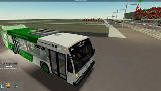 (Roblox) TTA 2019 Novabus LFS 1951 ~ Rt. 84 Astoria to Bellamy via Bathurst Station (NEW ROUTE)