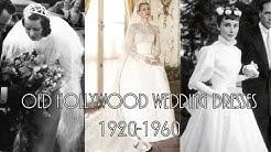 Old Hollywood Wedding Dresses 1920-1960