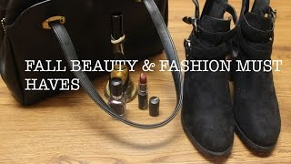 Fall 2014 Beauty & Fashion Must-Haves Thumbnail
