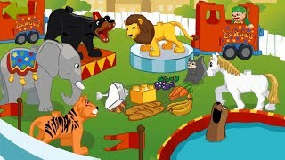 Lego Duplo Circus | Cute Animation Lego Animals Friends | Kids Cartoon Games By LEGO Systems, Inc