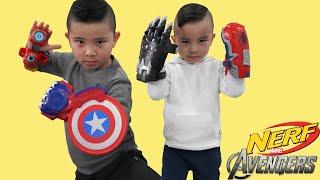 Avengers Nerf Power Moves Gear Test With Calvin Kaison CKN