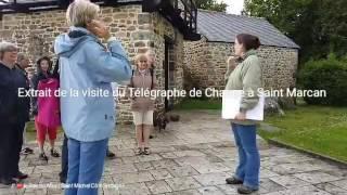 Extrait de la visite du Télégraphe de Chappe à Saint Marcan