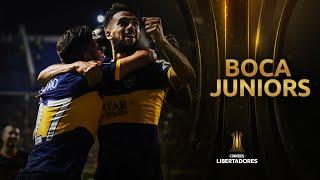 El camino de Boca Juniors a la Semifinal de la CONMEBOL Libertadores 2019