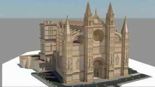Catedral de Mallorca - Modelo 3D