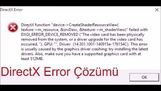 Gambar cover Fifa 17/Fifa 18/Fifa 19 DirectX Error hatası çözümü