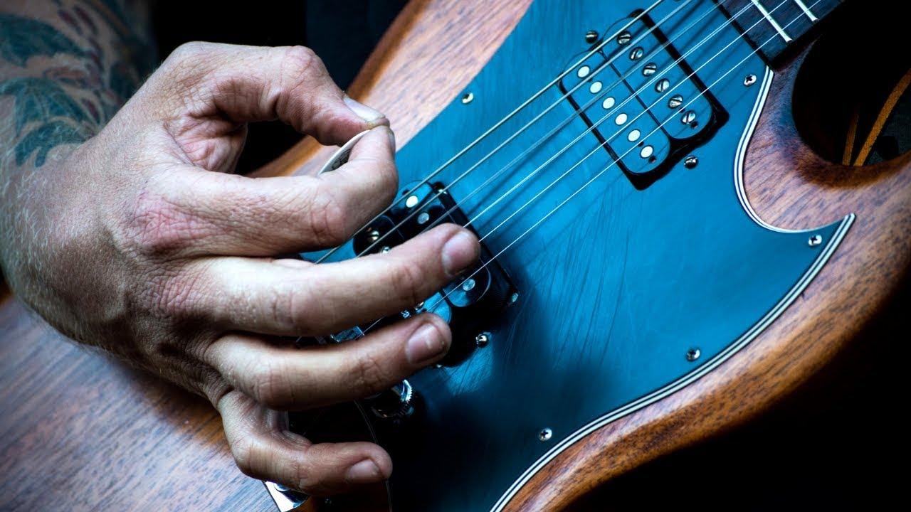 Wild Atmospheric Rock Guitar Backing Track Jam in C Minor
