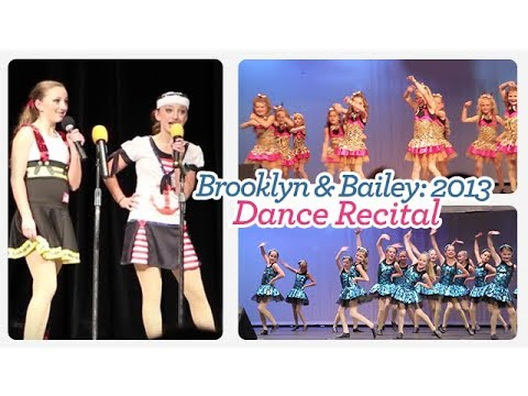 2013 Dance Recital | Brooklyn and Bailey