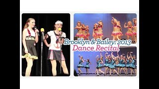 2013 Dance Recital | Brooklyn and Bailey thumbnail
