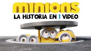 Minions : La Historia en 1 Video