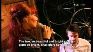 Johanna Kurkela / Rakkauslaulu [Love Song]  (Live) / Kosketuksessa part 6/6 english subtitle