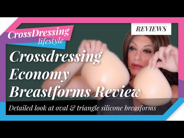 Detailed Economy Silicone Breast Forms review for Crossdressing / Crossdressers | Triangle & Ovals