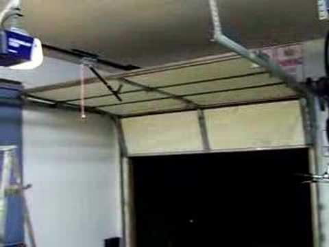 New automatic garage door opener  YouTube
