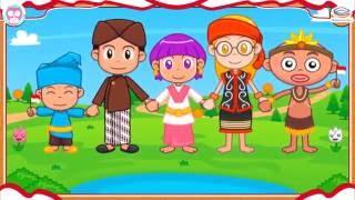 Berkibarlah Benderaku - Lagu Nasional - Video dibuat oleh Educa Studio dan DuniaBelajarAnak.id
