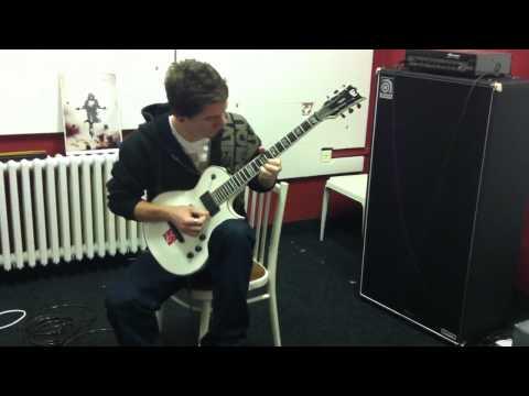 Bday guitar  by Tom Podhora
