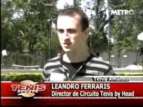 Leandro Ferrari - Yo - En Tenis Sports !!!!