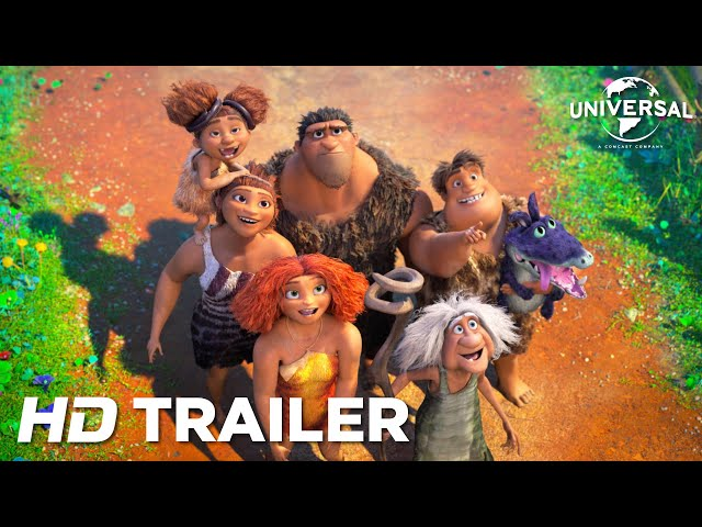 The Croods 2: A New Age - Official Trailer (Universal Pictures) HD