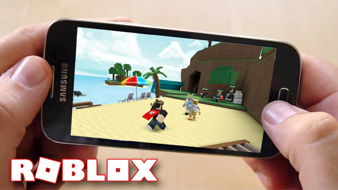 how to build in roblox on phone