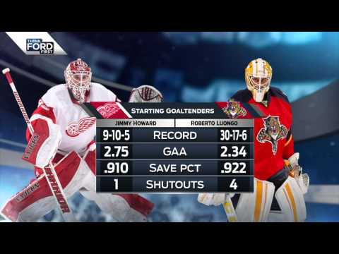 19.03.2016 Detroit Red Wings @ Florida Panthers