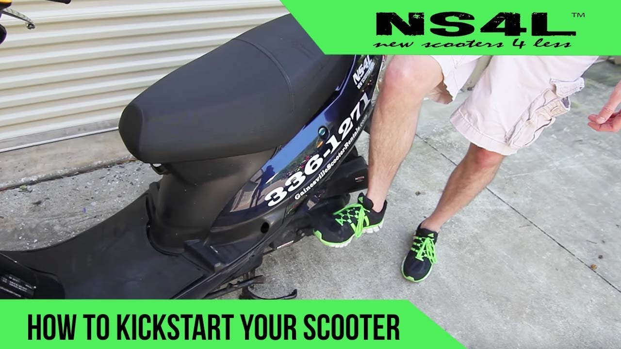 hight resolution of how to kickstart your scooter scooter startup troubleshooting
