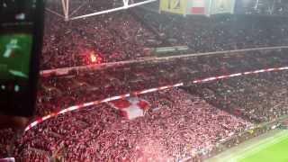 Mazurek Dąbrowskiego Wembley  15/10/2013