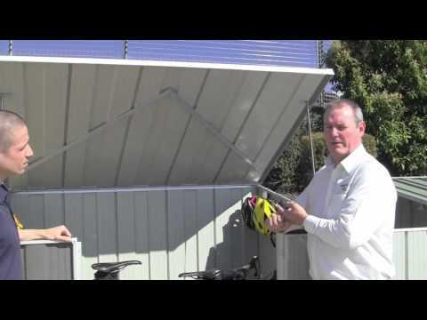 Cheap Sheds - Spanbilt StoreMate Utility