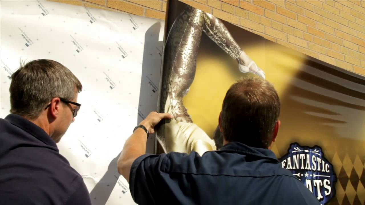 3m Envision Print Wrap Film Textured Wall Installation