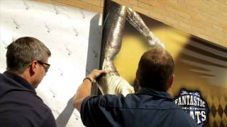 3M™ Envision™ Print Wrap Film Textured Wall Installation