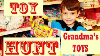 Toy Hunt Frozen Toby Grandma's Toys Toy Box Opening Target Disney Princess Peppa Pig Play Doh