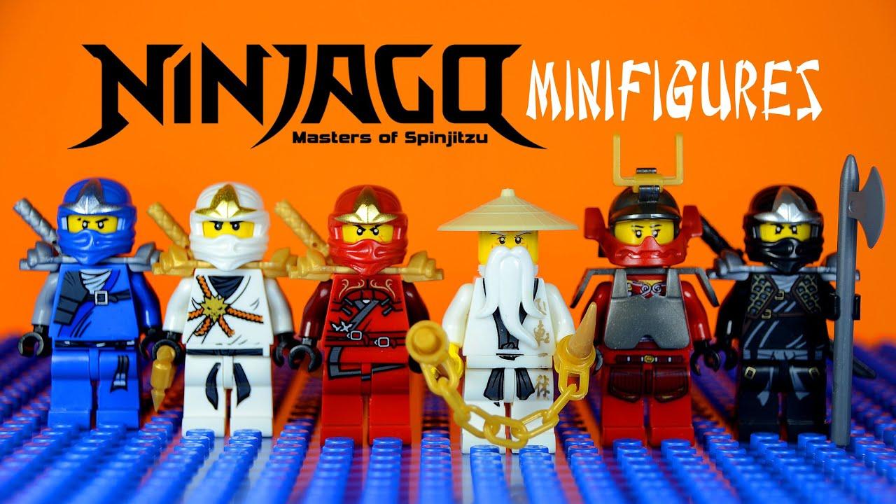 LEGO Ninjago Masters of Spinjitzu KnockOff Minifigures Set ...