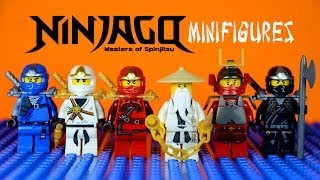 LEGO Ninjago Masters of Spinjitzu KnockOff Minifigures Set 1 (Bootleg)