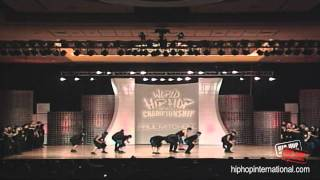 Groovement (Canada) • 2011 World Hip Hop Dance Championship (MegaCrew)