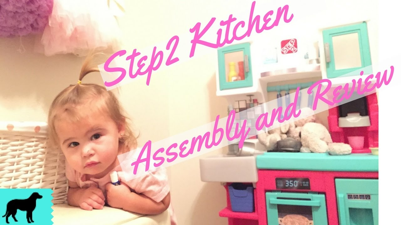 Pink Step 2 Kitchen Step2 Contemporary Chef Kitchen In Pink Assembly And Review Youtube
