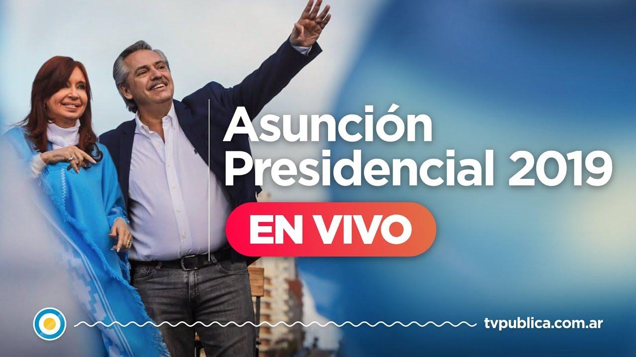 Asunción Presidencial 2019 en VIVO
