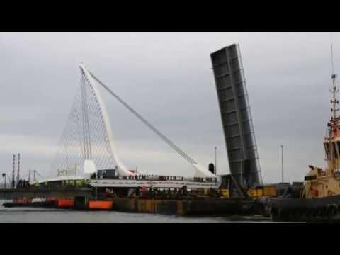 2009 Samuel Beckett Bridge Dublin