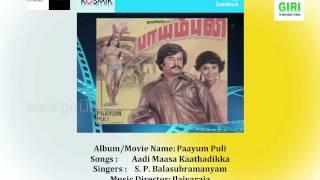 01 Aadi Maasa Kaathadikka - Paayum Puli - S P Balasubramaniam - S Janaki - Ilayaraja - Vaali