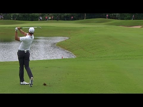 2013 Grand Slam of Golf: Day 2 tee shots, Adam Scott