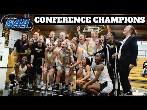Oglethorpe University Women's Basketball Conference Champions 2020
