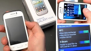 Samsung Galaxy Young GT-S6310N Unboxing & Hands-On