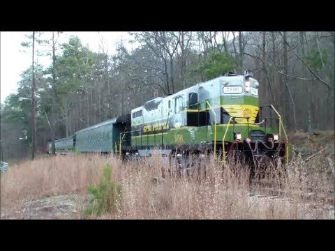 Stone Mountain Scenic Railroad Tour and History of the Railroad