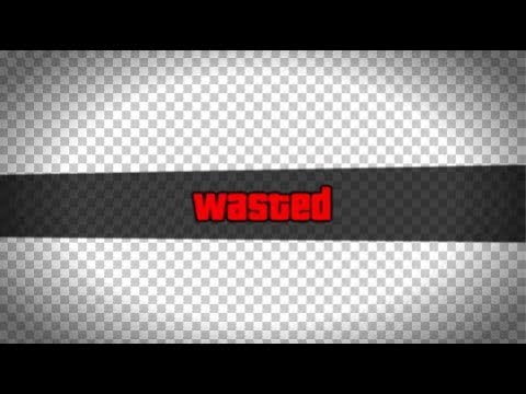 Gta  Wasted Effect Transparent Template Free To Use