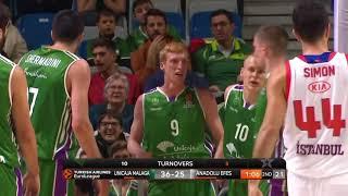 EuroLeague 22. Hafta: Unicaja Malaga - Anadolu Efes