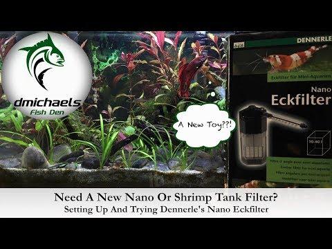 Need A Nano Tank Or Shrimp Tank Filter? The Den Tries Dennerle's Nano Eckfilter...
