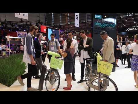 JCDecaux's smart city innovations at Viva Technology 2017