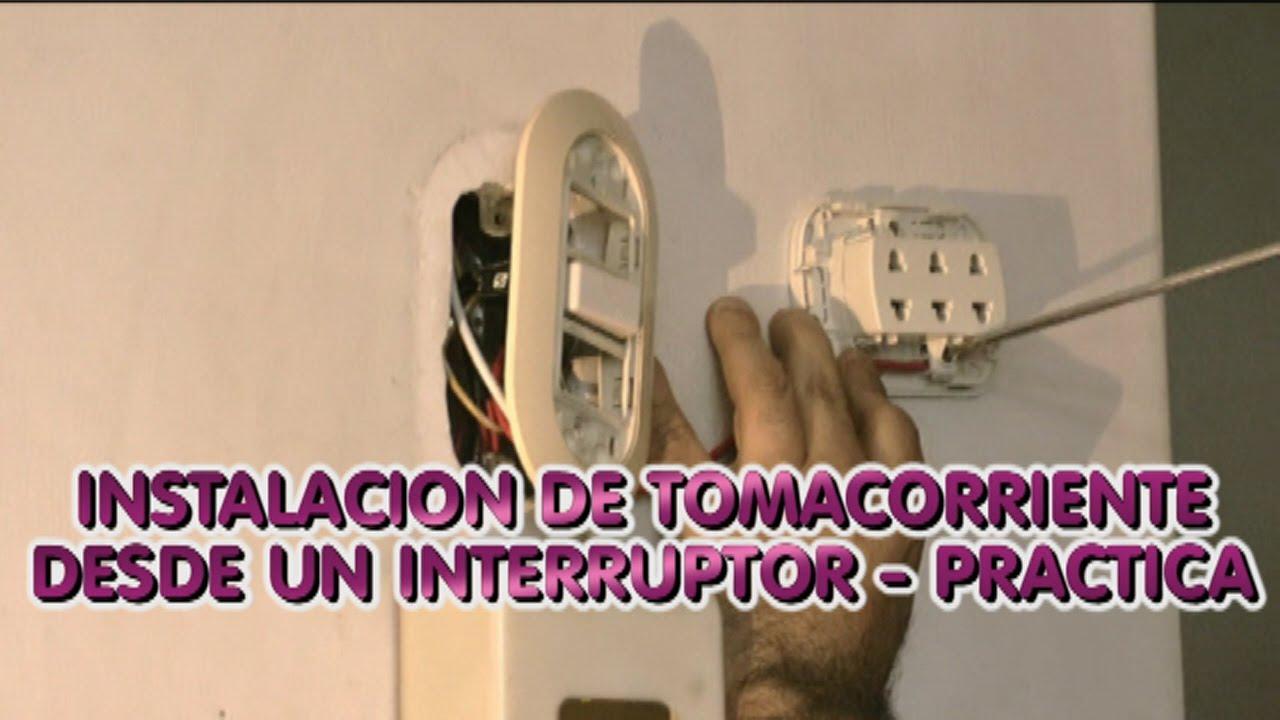 Instalacion electrica de tomacorriente desde un - Interruptores y enchufes ...
