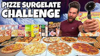 PIZZE SURGELATE CHALLENGE con rinforzo di CROSTATA - (4 KG) - MAN VS FOOD