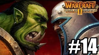 UPADEK KRÓLESTWA LUDZI - Let's Play Warcraft 2 Tides of Darkness #14 [KAMPANIA ORKÓW]